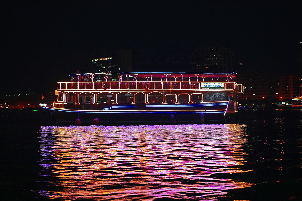 A dhow cruise along the Corniche - One of the best things to do in Abu Dhabi   Outside Suburbia