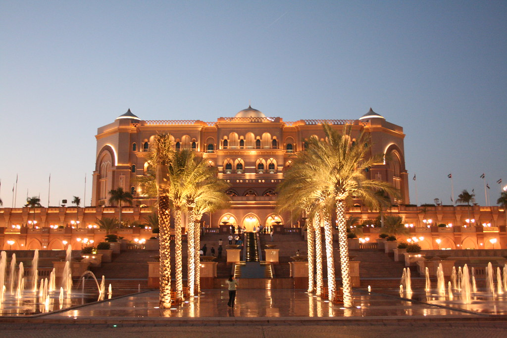 Emirates Palace is one of the most luxurious hotels not only in Abu Dhabi but in the UAE | Outside Suburbia