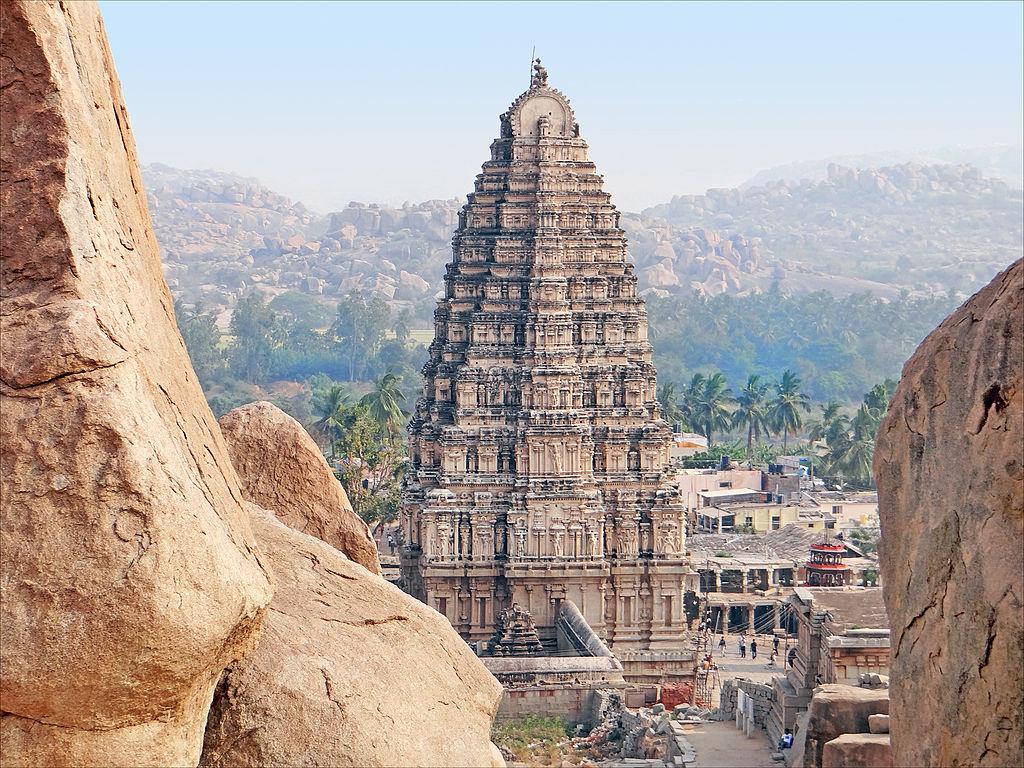Virupaksha Temple in Hampi, India
