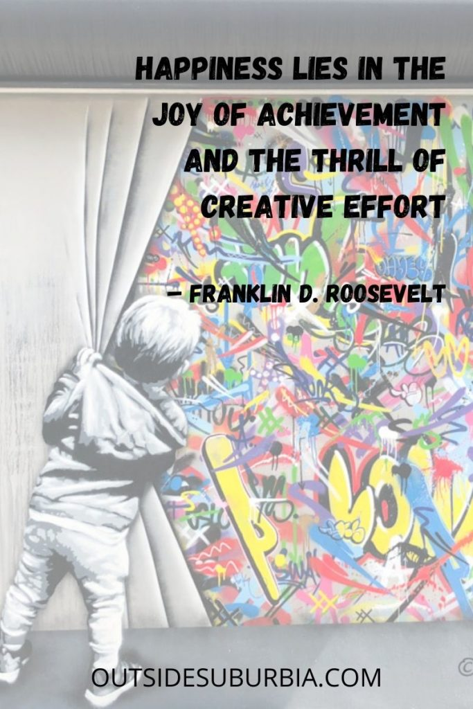 """""""Happiness lies in the joy of achievement and the thrill of creative effort."""" – Franklin D. Roosevelt   50 Best Happy Quotes: Quotes About Happiness"""