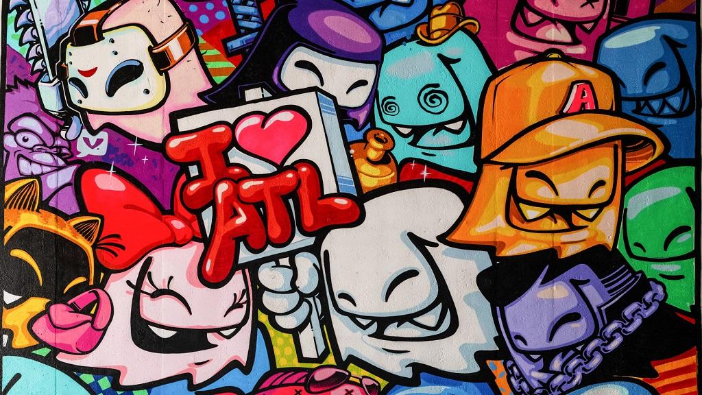 Mister Fangs Loves ATL Mural