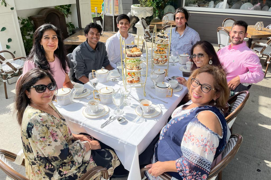 A Mother's Day Afternoon High Tea in Plano | Outside Suburbia