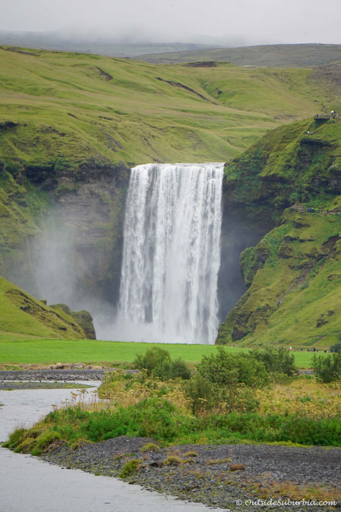 Famous Waterfall in Iceland | Outside Suburbia