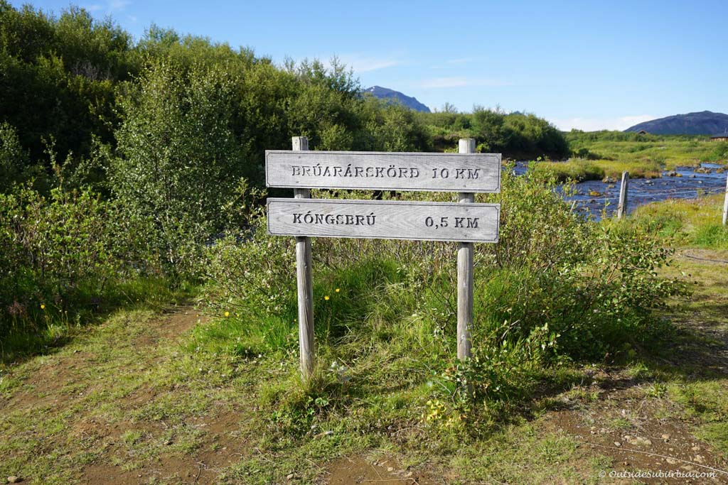 How to get to Bruarfoss   Outside Suburbia