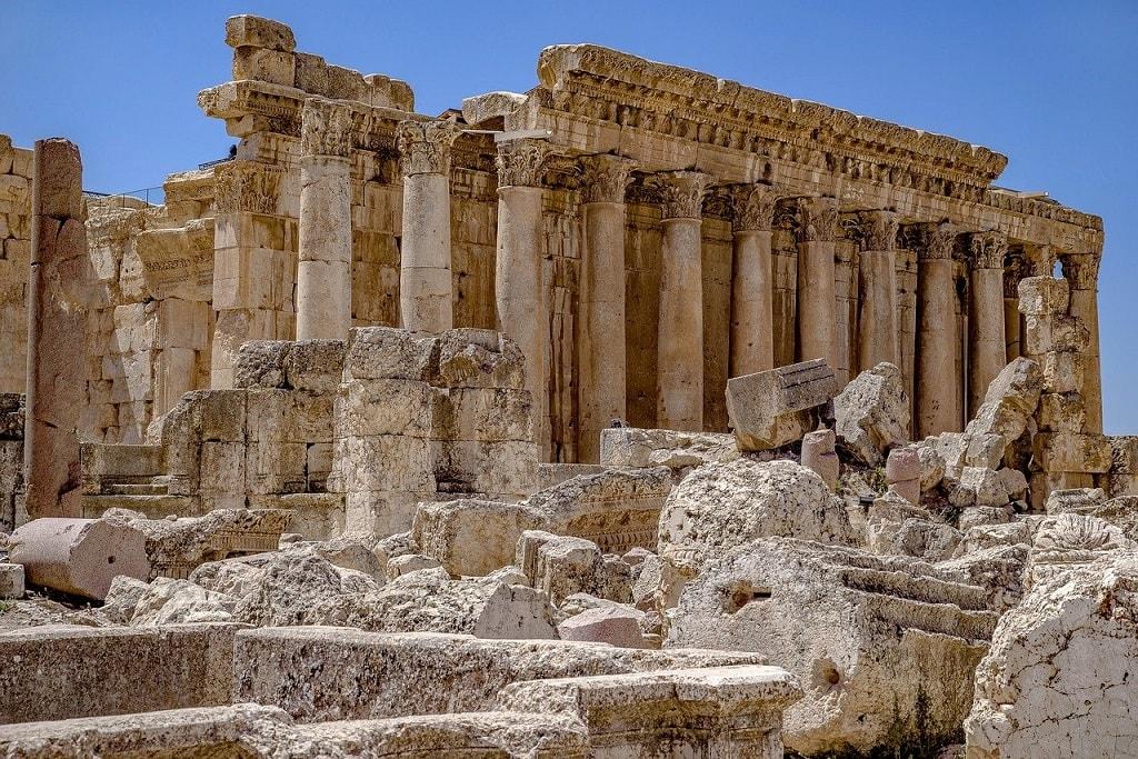 Lebanon Baalbeck Temple