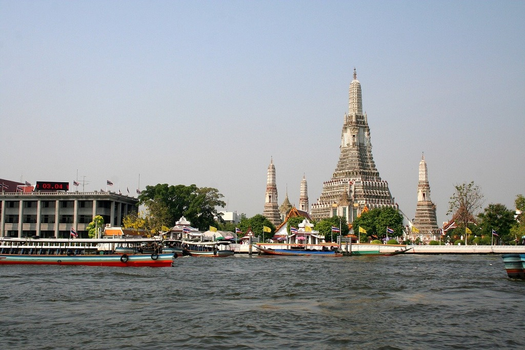 Temple Wat Arun, Bangkok, Thailand ,a Famous Temples in Asia