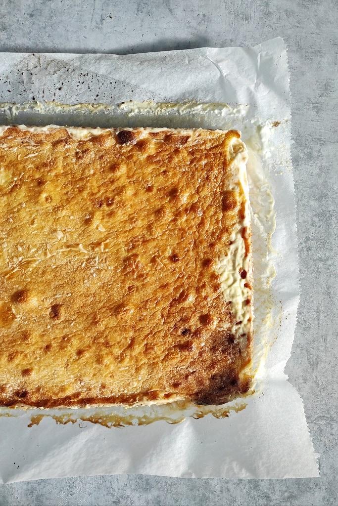 Croatian Cuisine: Zlevanka is a traditional cake made of cornflour and fresh cheese   Outside Suburbia