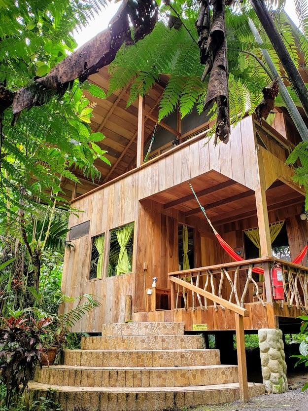 Casa Divia Eco-lodge in Mindo, a Cloud Forest near Quito, Ecuador