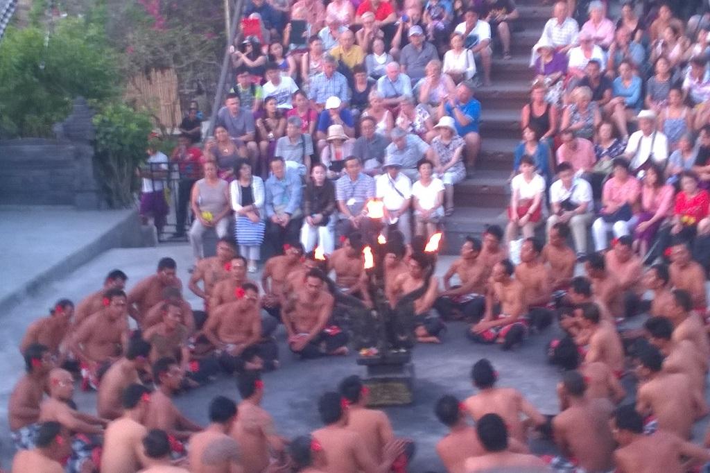 Kecak fire dance in Bali | Outside Suburbia