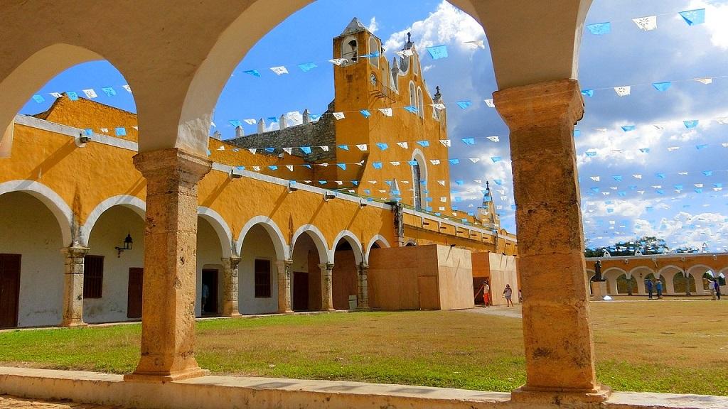 Convento de San Antonio, Izamal, Yucatan, Mexico