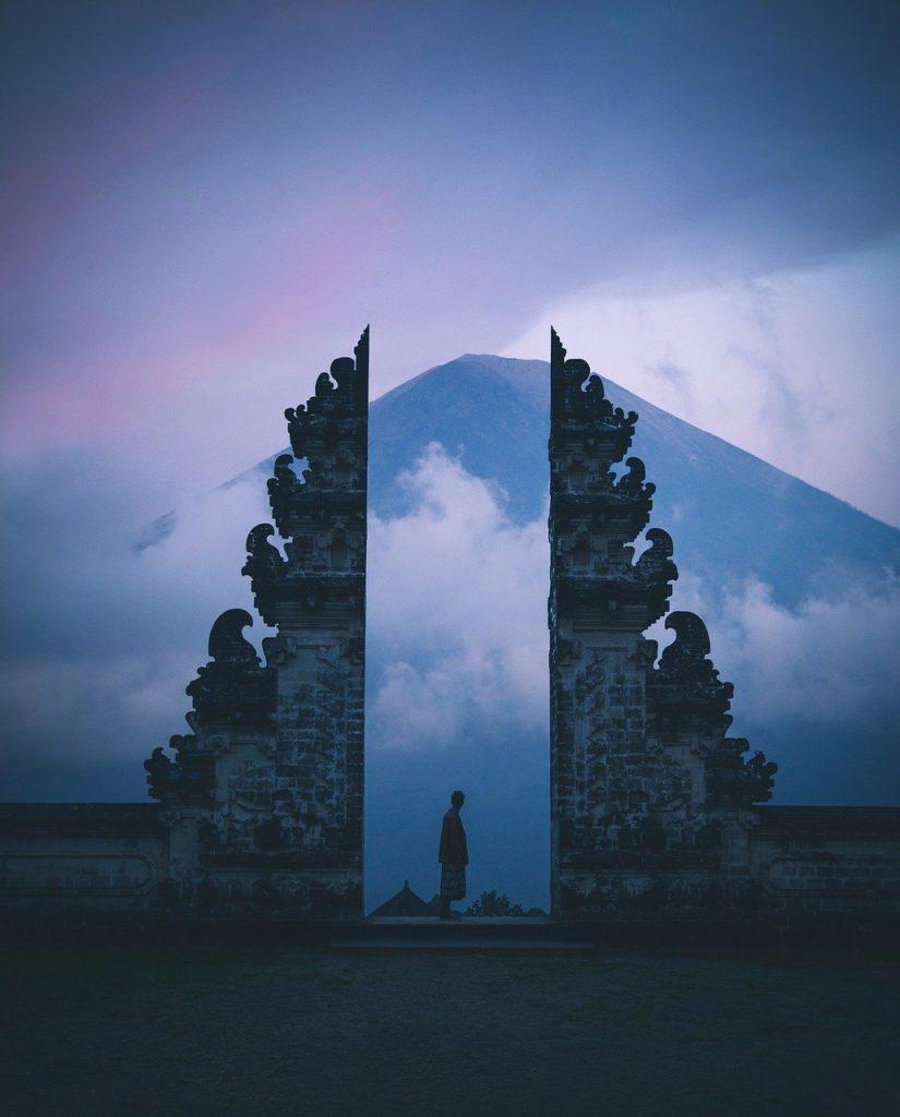 Gates of Heaven (in Pura Lempuyang), An iconic image of Bali: Mt. Agung peeking through | Best things to do in Bali | Outside Suburbia