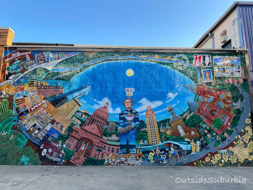 AUSTINATIOUS, Iconic Austin Murals   Outside Suburbia