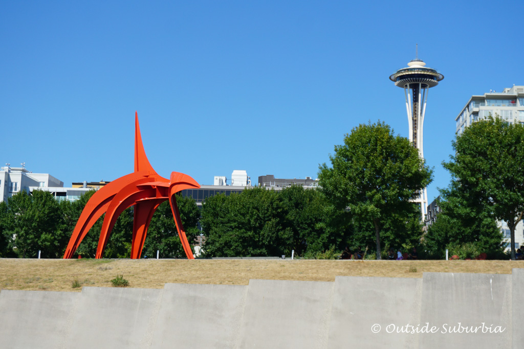 Alexander Calder's Eagle sculpture   Awesome things to do in Seattle   Outside Suburbia
