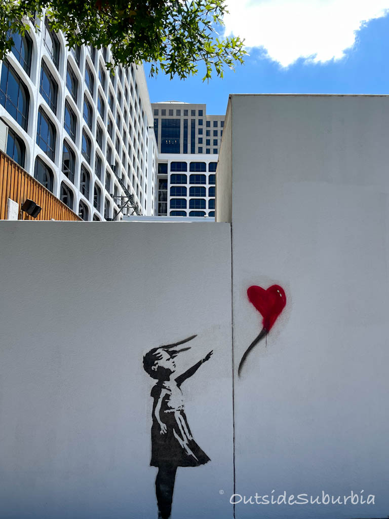 Banksy Austin Mural | OutsideSuburbia