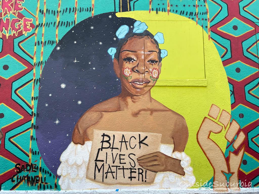 Black Lives Matter Austin Mural   OutsideSuburbia