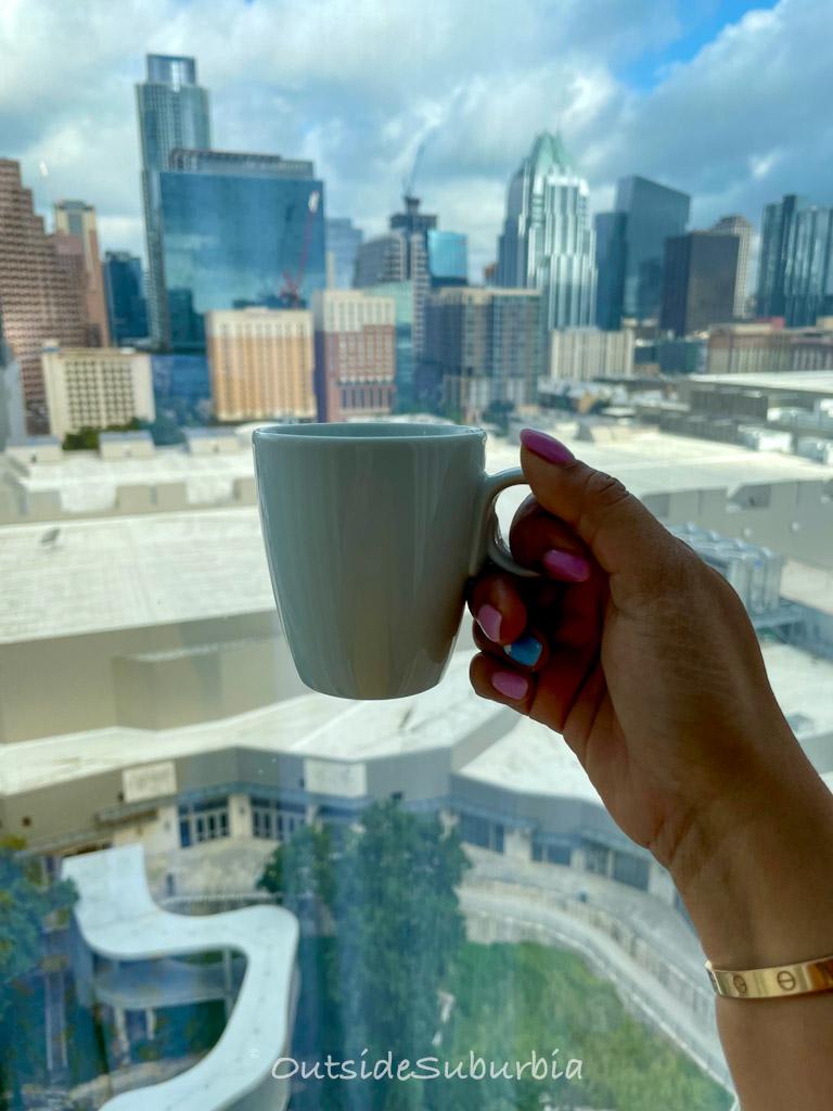Room view, Fairmont Austin, Texas