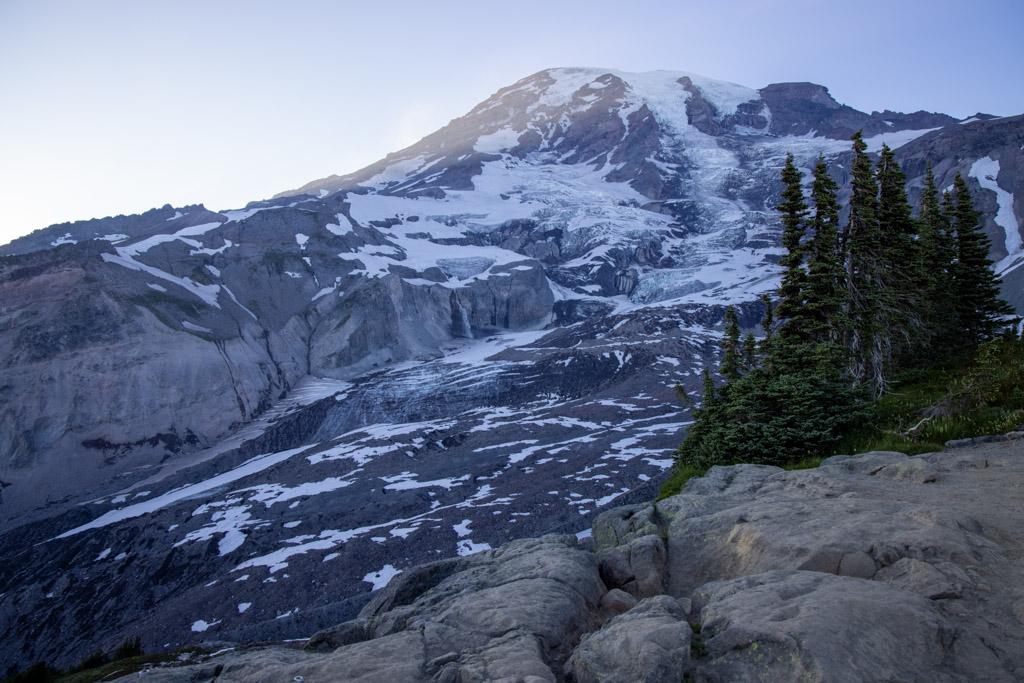 Glacier Vista viewpoint at Mt. Rainier | Outside Suburbia