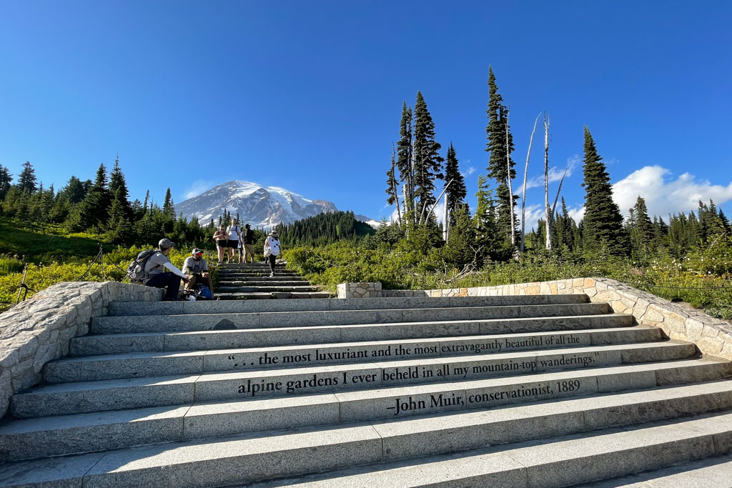 Things to do in Mt. Rainier National Park | John Muir Quote