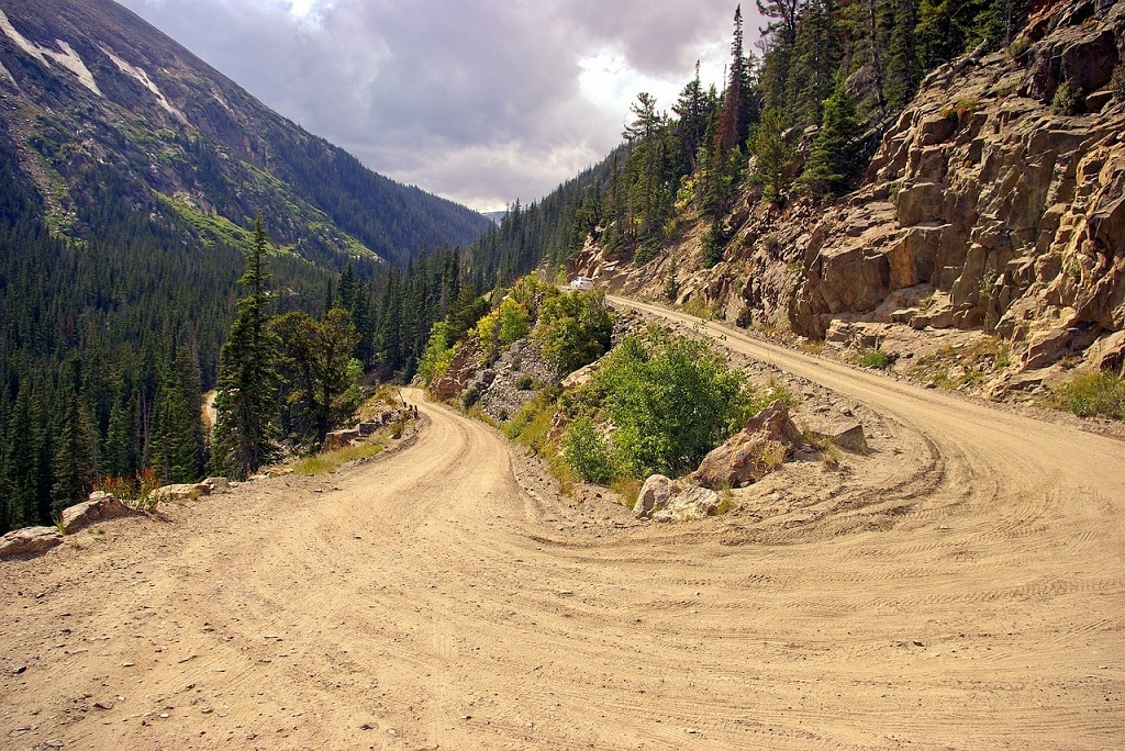 Old Fall River Road, scenic drives in Rocky Mountain National Park | Outside Suburbia
