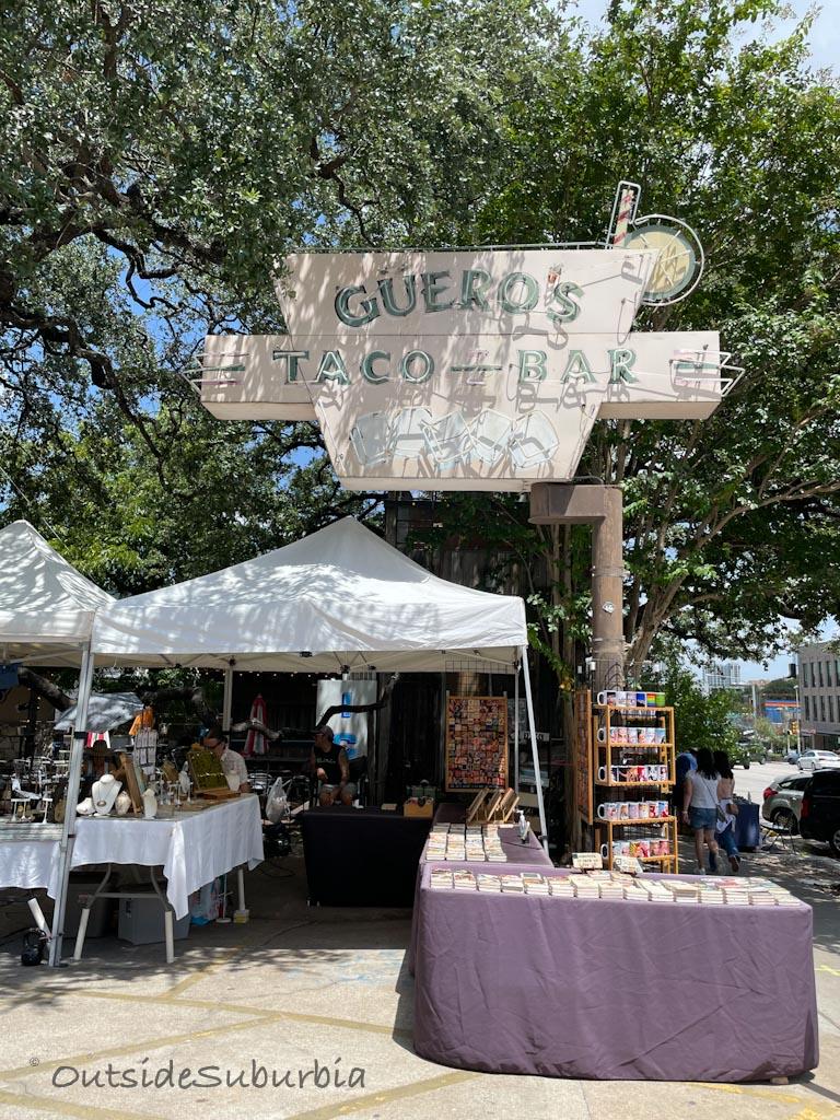Guero's Taco Bar | Best Austin Restaurants | OutsideSuburbia