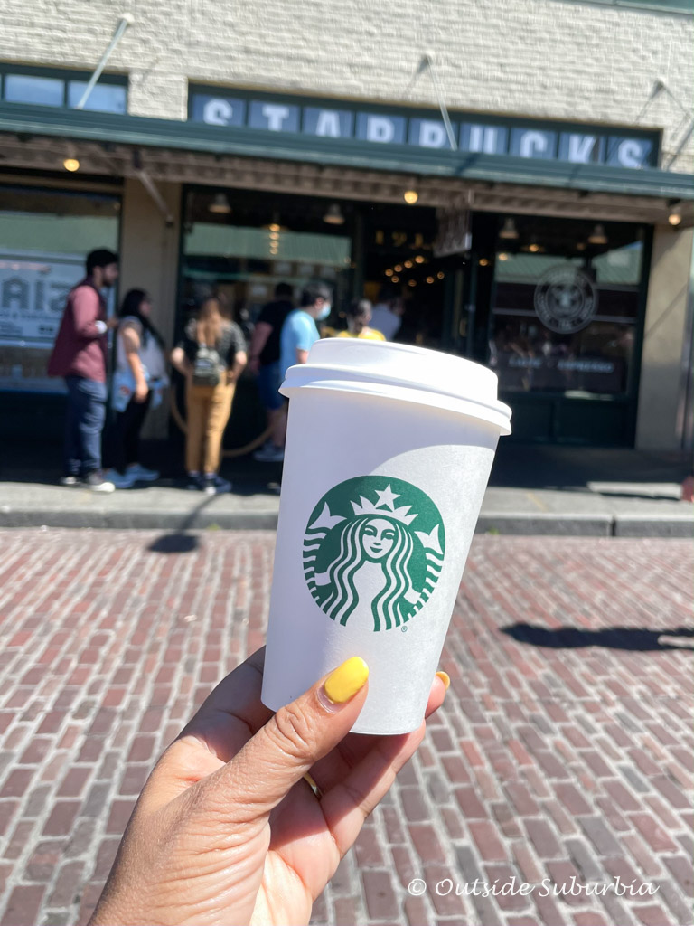 The original Starbuck store at 1912 Pike Place in Seattle   Outside Suburbia