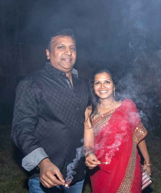 Sabyasachi sequined saree | Priya Vin | Outside Suburbia