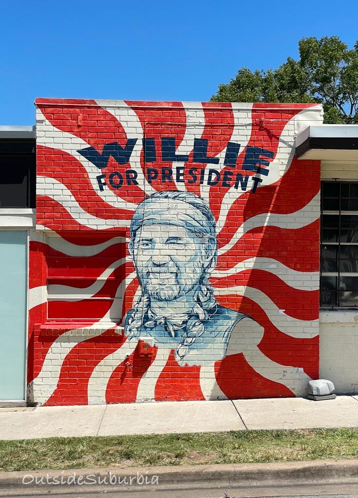 Wille for President Austin Mural   OutsideSuburbia