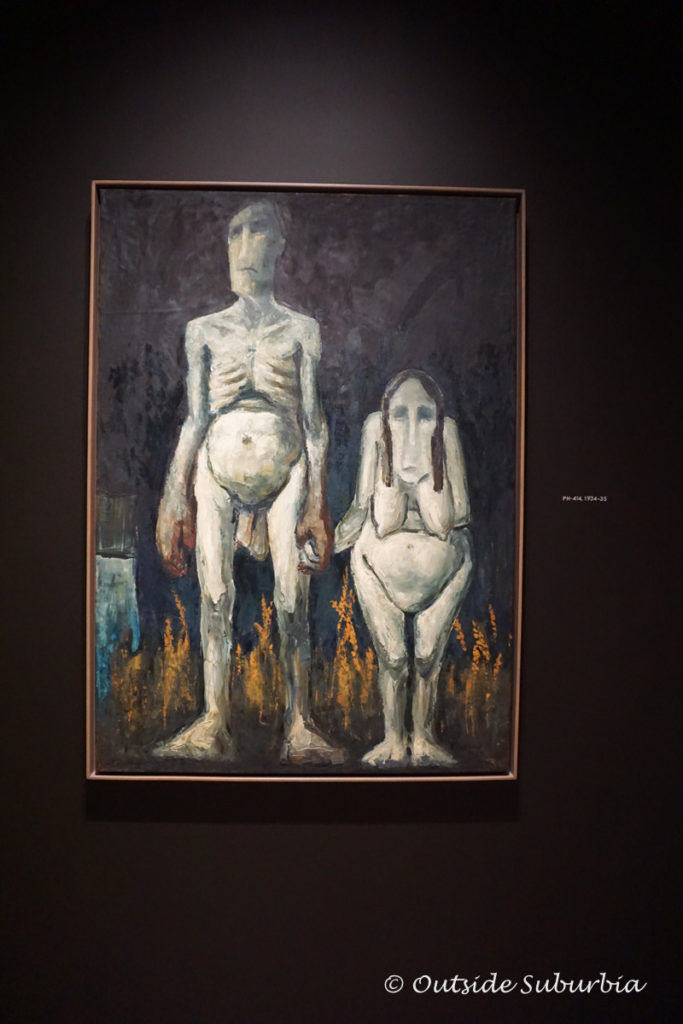Clyfford Still Art works from the Depression Era