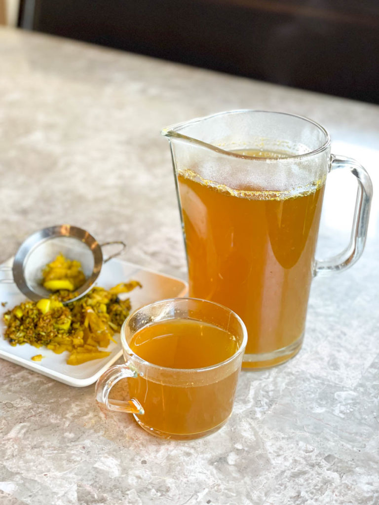 Make this herbal tea for seasonal allergy relief and overall wellness.